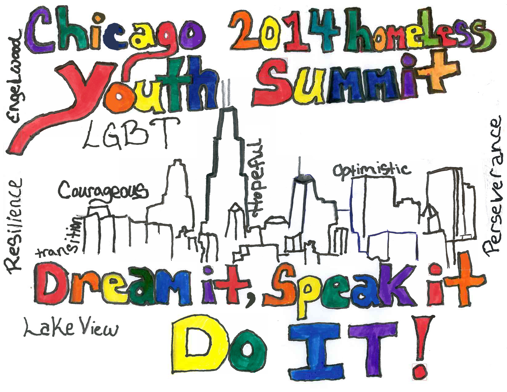 Chicago LGBT Homeless Youth Summit 2014